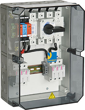 PV (Photovoltaic) Combiner Boxes